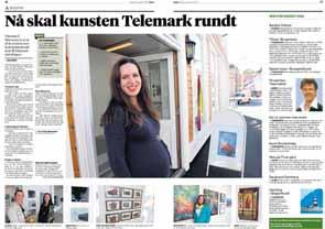 Varden Telemarksutstillingen 2014 Kragerø