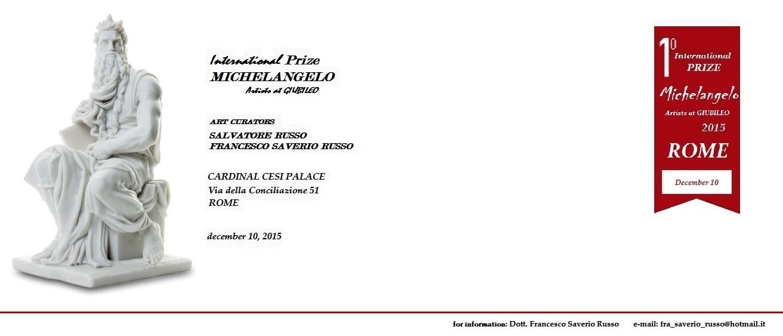 Biglietto Premio Michelangelo 2