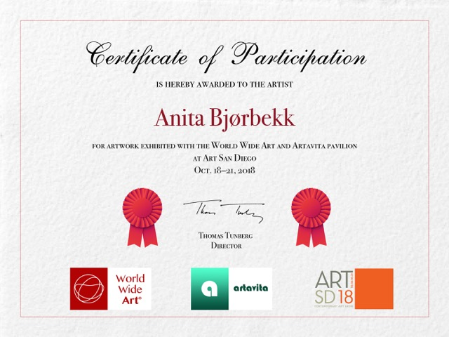 Certificateog participation